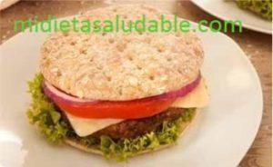 hamburguesa saludable